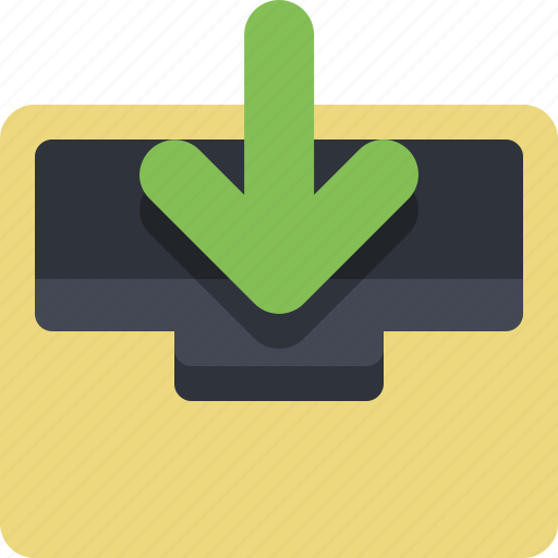archive, archiver, categorized, category, documents, inbox, incoming icon