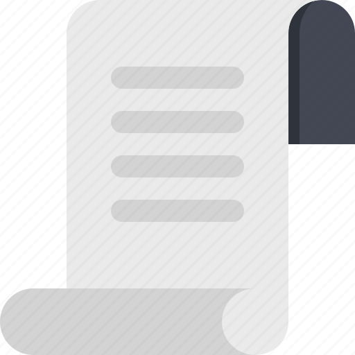content, document, file, page, paper, script, scroll icon
