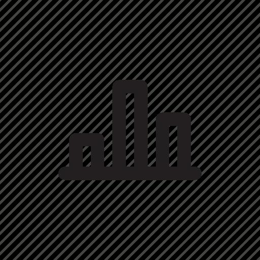 bar, chart, graph, pie, pie chart icon