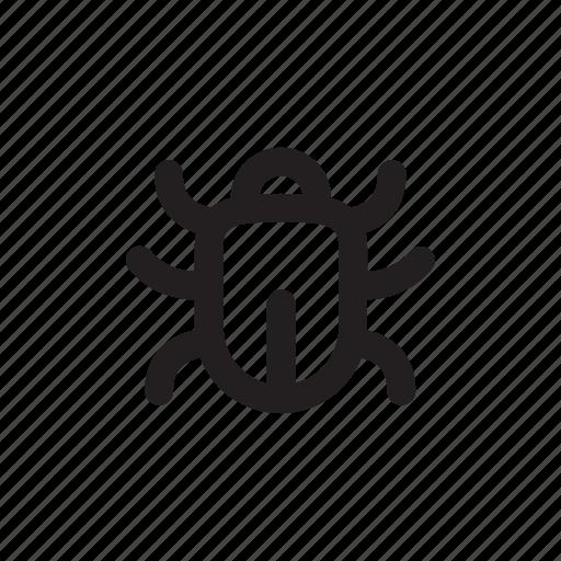 bug, code, test, troubleshoot, usability icon
