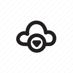 cloud, compute, computing, download, storage icon