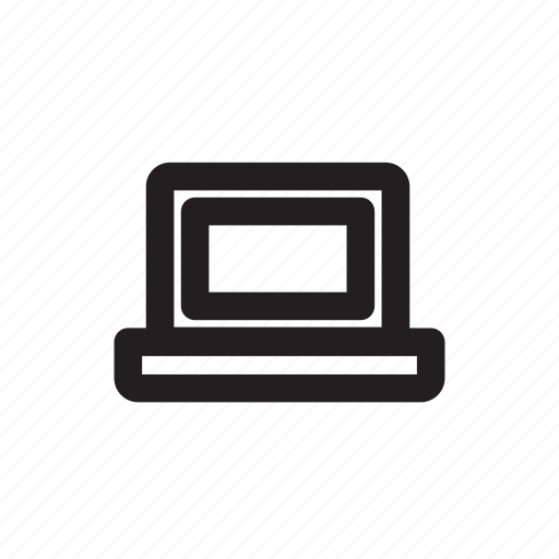 computer, laptop, pc, personal computer icon