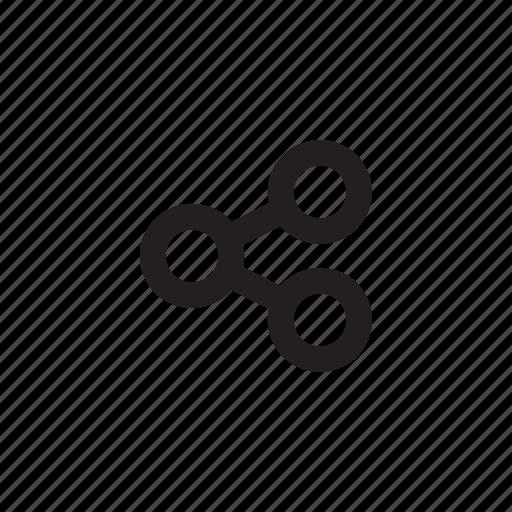 copy url, send, share, sharing icon