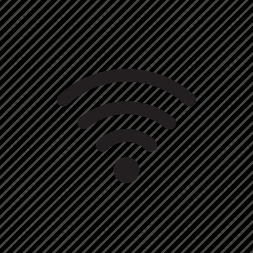 signal, wavelength, waves, wifi icon