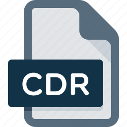 cdr, data, document, extension, file icon