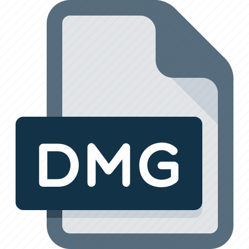 data, dmg, document, extension, file, format icon