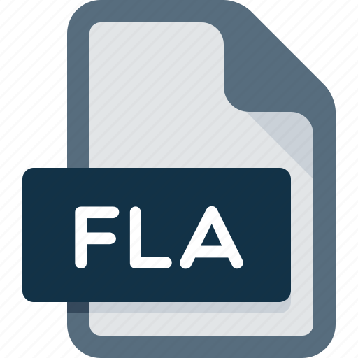 adobe, creative, document, extension, file, fla, flash icon