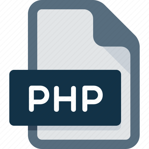 data, document, extension, file, php icon