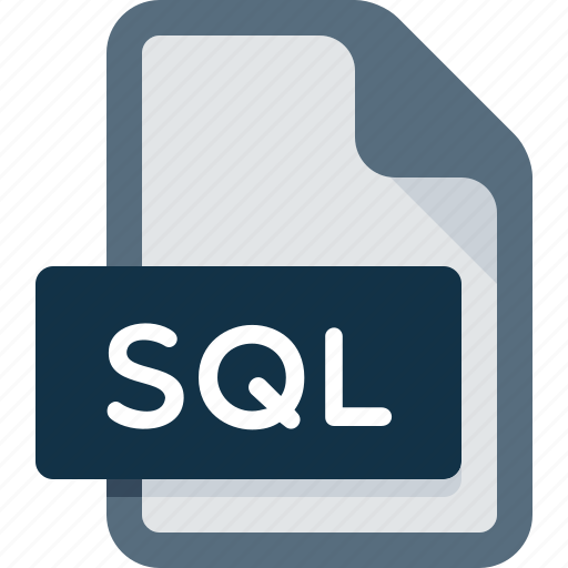 Document, extension, file, sql icon - Download on Iconfinder