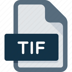 document, extension, file, image, photo, picture, tif icon