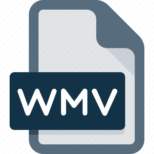 document, extension, file, media, music, wmv icon