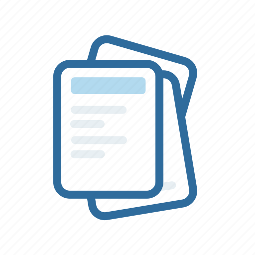 document, extenstion, file, format, paper icon