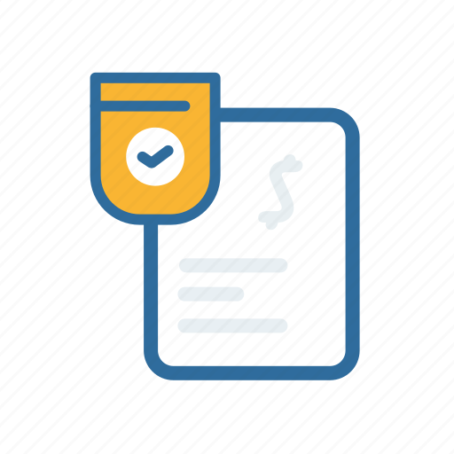 document, done, extenstion, file, format, paper icon