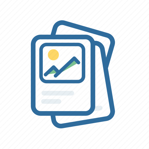 document, extenstion, file, format, paper, photo, picture icon