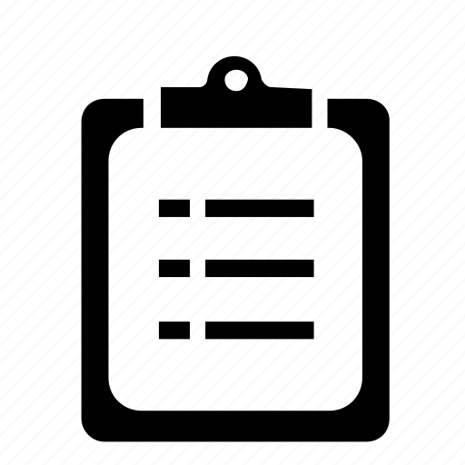clipboard, document, extension icon