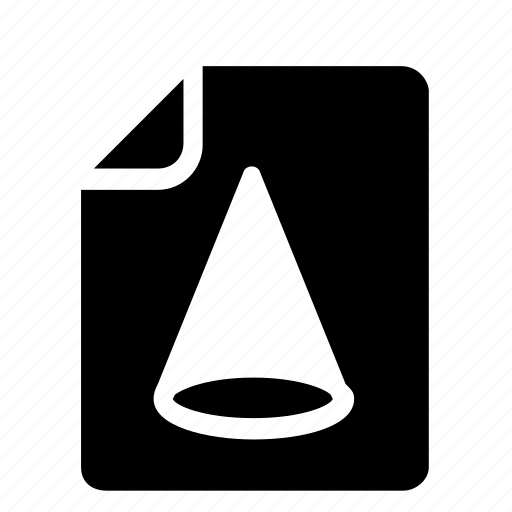 file, shapes icon