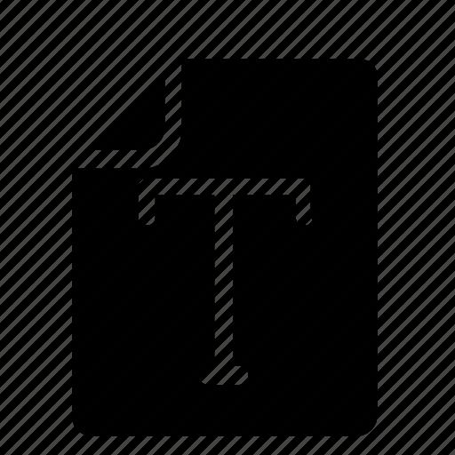 file, t icon