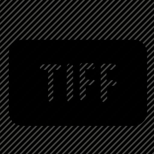 file, format, tiff icon