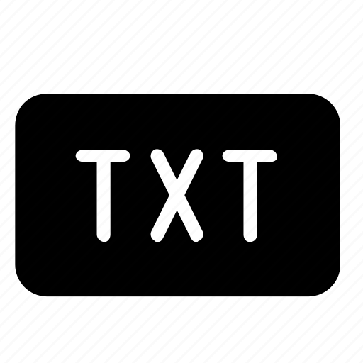 file, format, txt icon