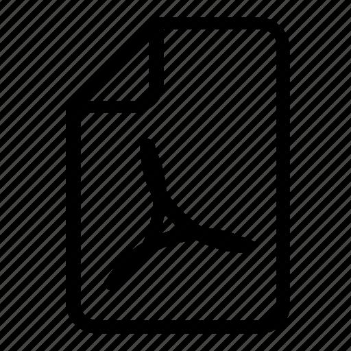 adobe, file, format icon