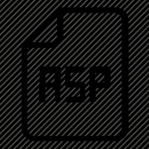 Asp, file, format icon - Download on Iconfinder