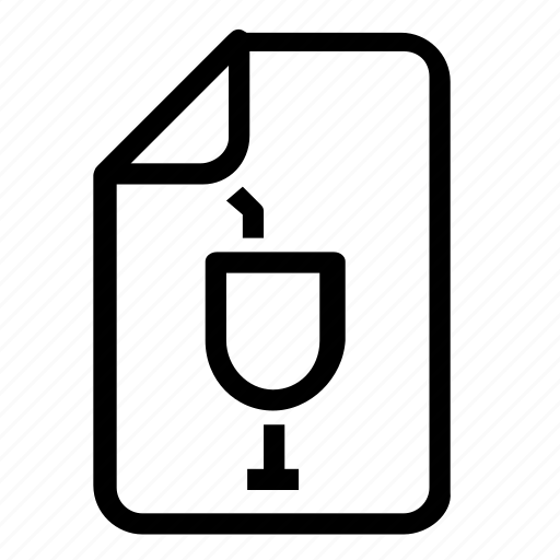 drinks, file icon