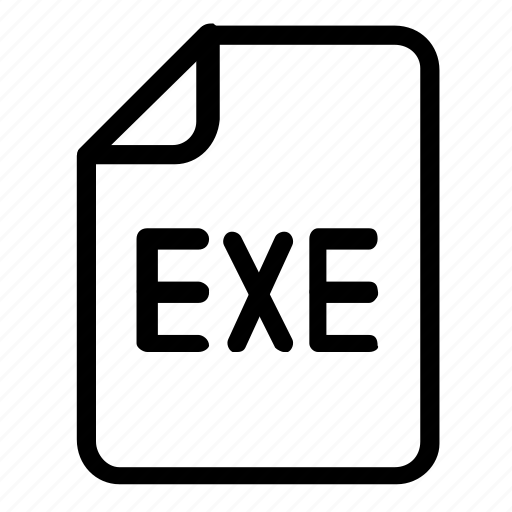 Exe, file, format icon - Download on Iconfinder