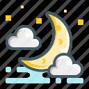 moon, night, weather, ramadan