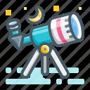 telescope, moon, ramadan, islam