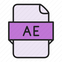 ae, file icon