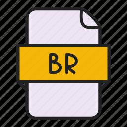 br, file icon