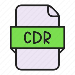 cdr, file icon