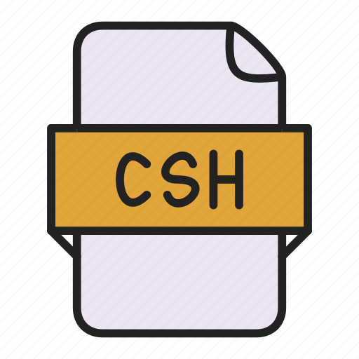 csh, file icon