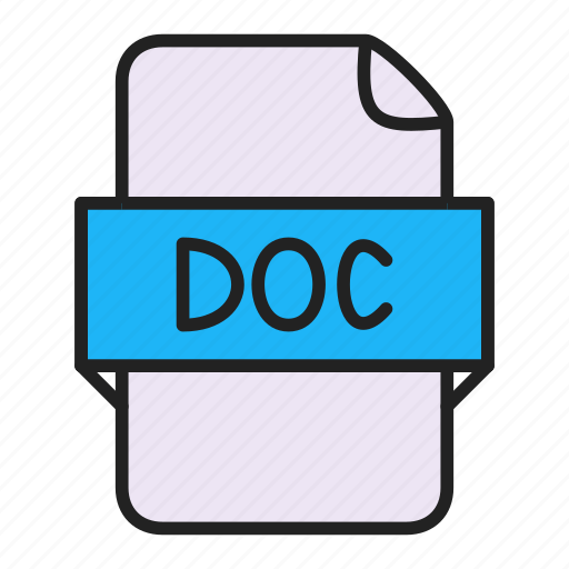 Doc, file, word icon - Download on Iconfinder on Iconfinder
