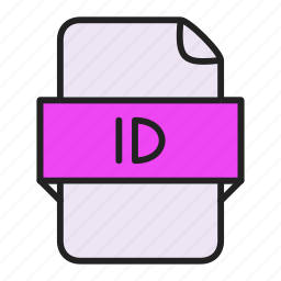 adobe, file, id, indesign icon