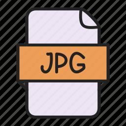 file, image, jpg icon
