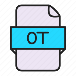 file, ot icon