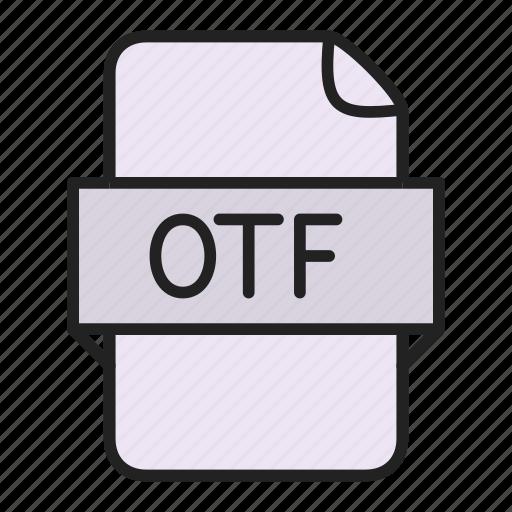 File, otf icon