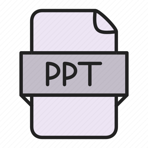 file, ppt icon
