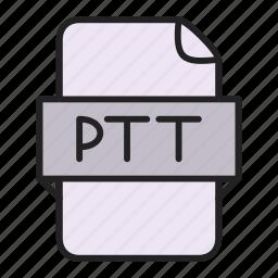 file, ptt icon