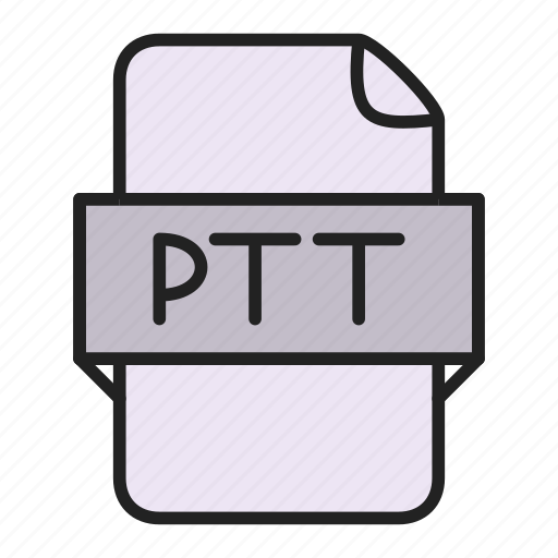 file, ptt icon