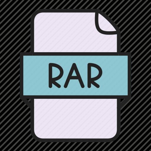 archive, file, rar icon