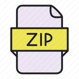 archive, file, zip icon