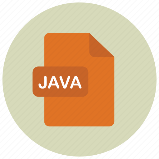 extension, file, java, type icon