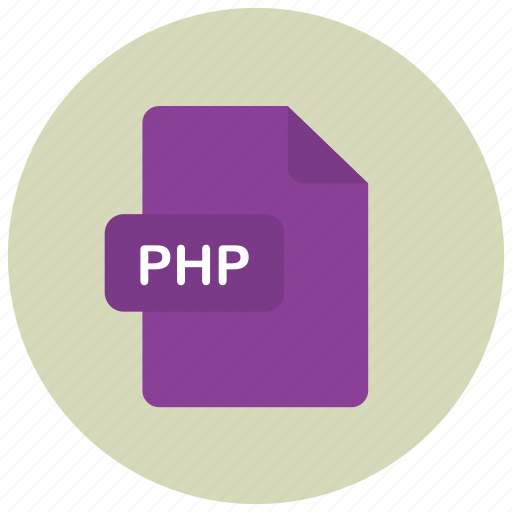extension, file, php, type icon