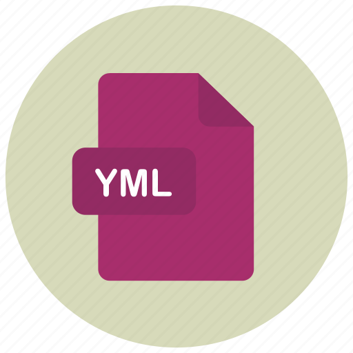 extension, file, type, yml icon