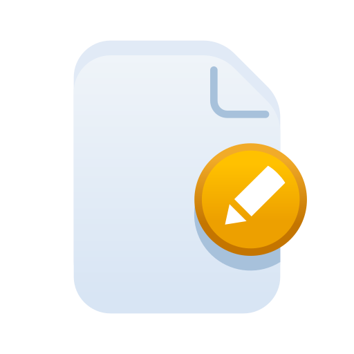 Document, edit, file, filetype, paper, pencil icon - Free download
