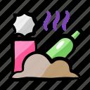 contamination, environment, garbage, rotten, rubbish icon
