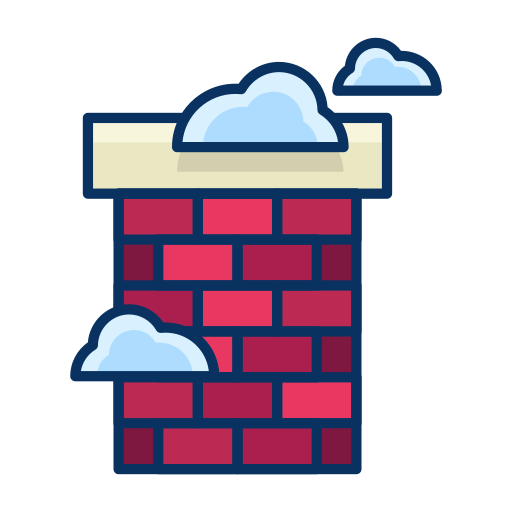 chimney, cloud, fireplace, house, real estate icon