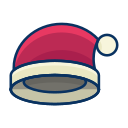 christmas, clothes, clothing, fashion, hat icon